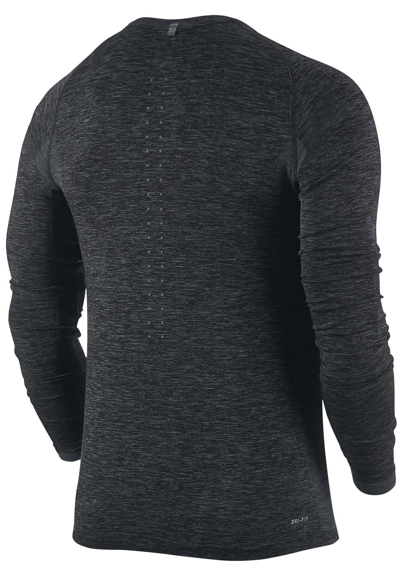Long Sleeve T Shirt Nike Dri Fit Knit Ls