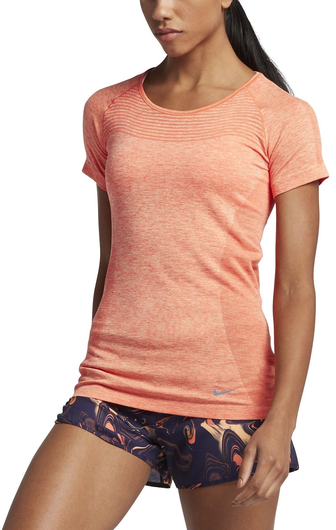 Běžecké tričko s krátkým rukávem Nike Dri-FIT KNIT