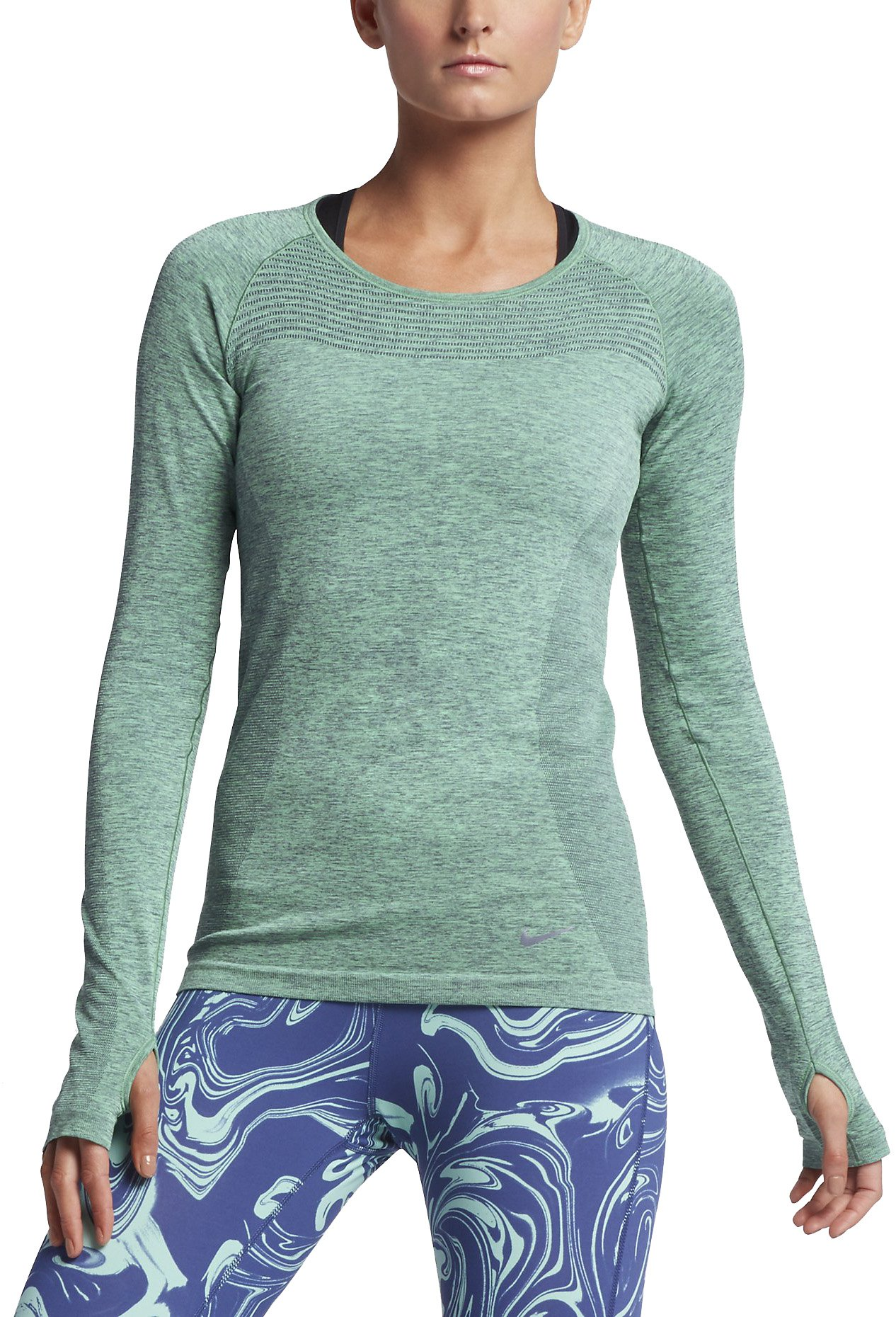 Běžecké triko s dlouhým rukávem Nike Dri-FIT KNIT