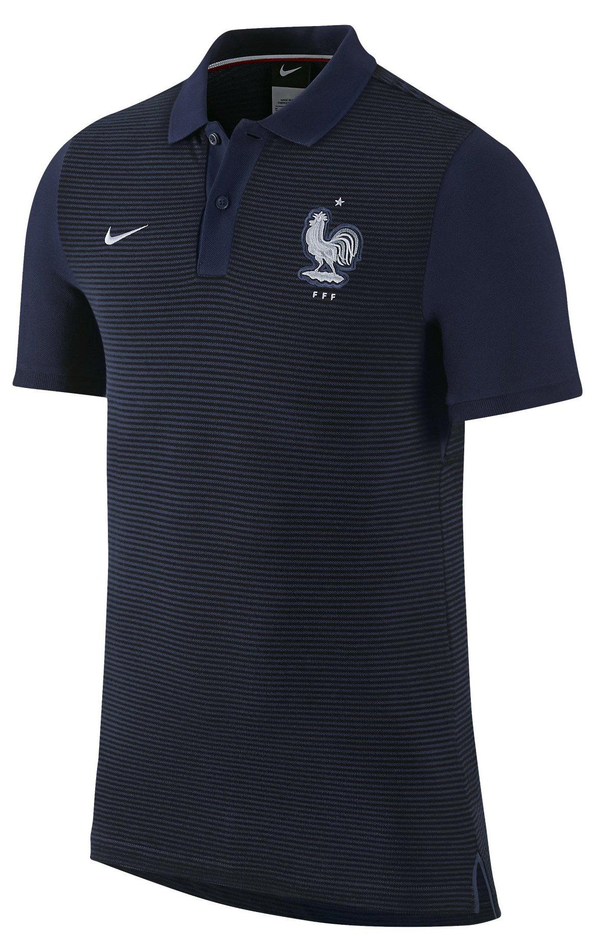 Polokošile Nike FFF AUTH GS SLIM POLO