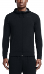 Mikina s kapucí Nike DRI-FIT TRAINING FLEECE FZ HDY