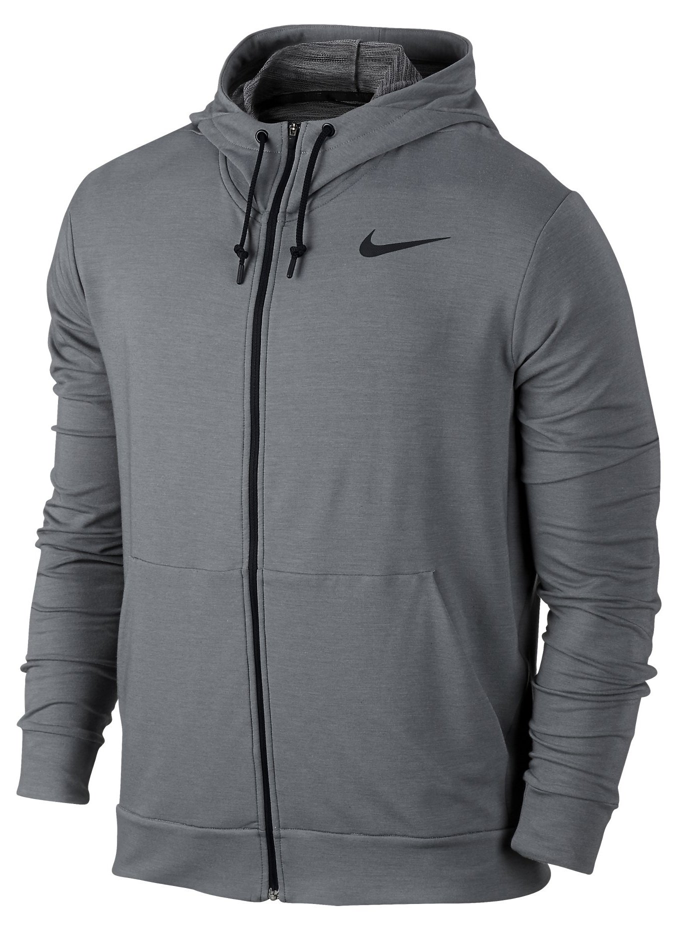 Hooded Sweatshirt Nike DRI-FIT TRAINING FLEECE FZ HDY
