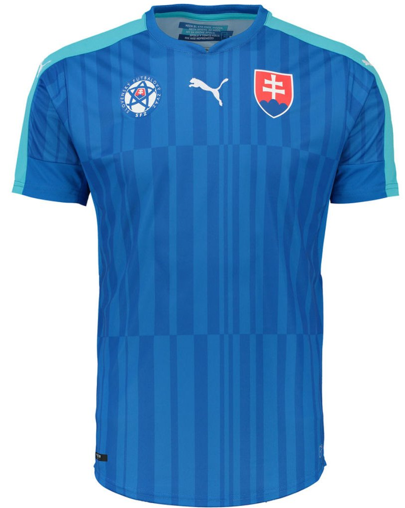 Dres Puma Slovakia Away Replica Shirt royal-b