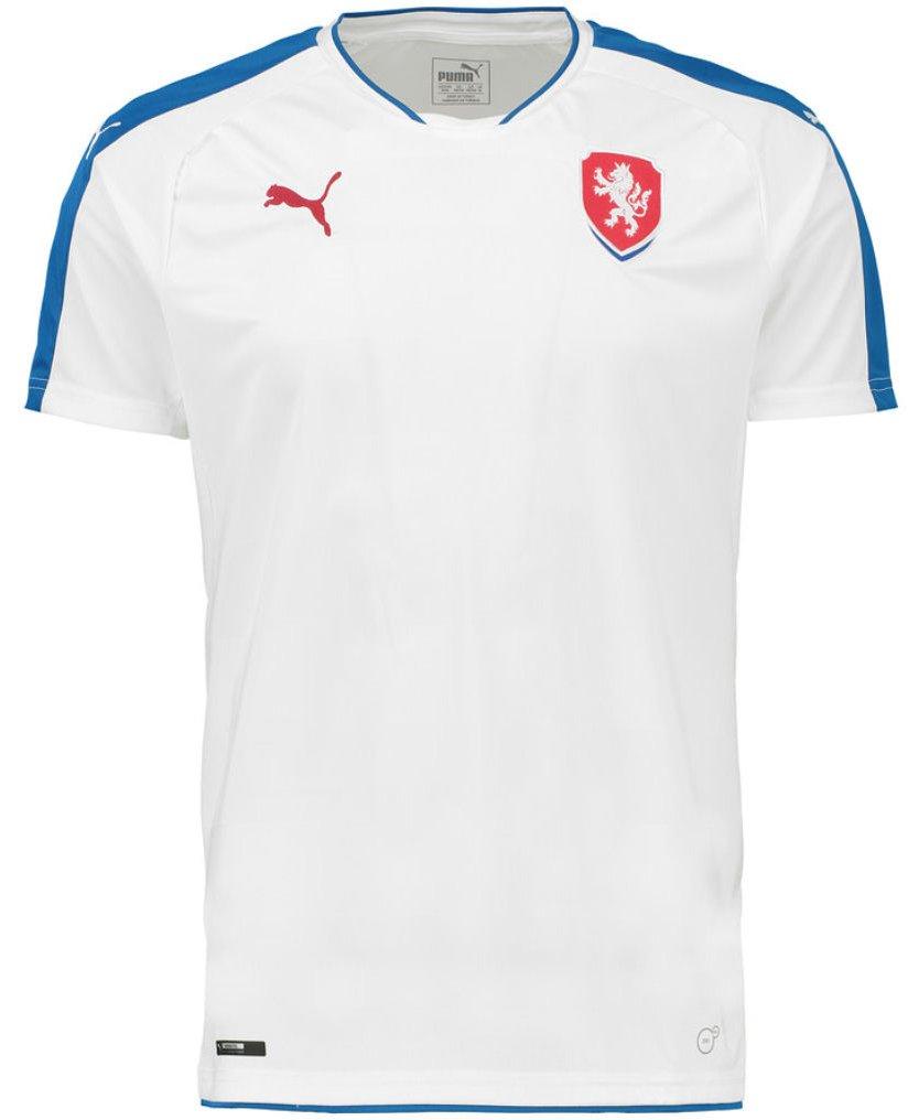 Dres Puma Czech Republic Away Replica Shirt white-