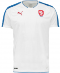 Dres Puma Czech Republic Away Replica Shirt white-