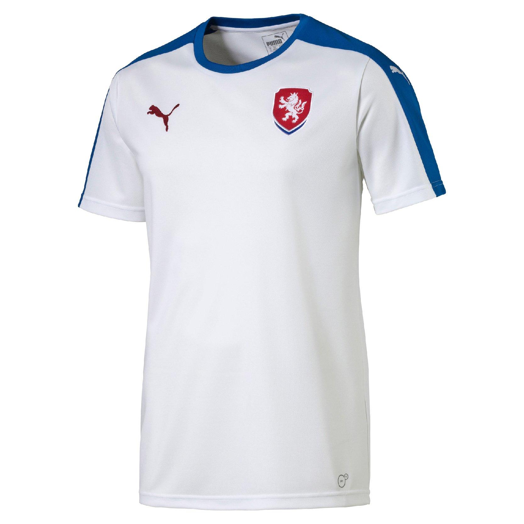 Dres Puma Czech Republic Away Replica B2B Shirt wh