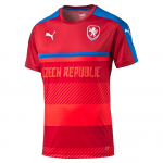 Dres Puma Czech Republic Training Jersey chili pep