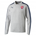 Svetr Puma Czech Republic Casuals Crew Neck Sweater