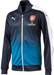 Mikina Puma Arsenal Stadium Jacket black iris-Methyl