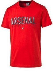 Triko Puma Arsenal Fan Tee high risk red