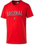 Arsenal Fan Tee high risk red