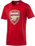 AFC Fan Tee - Crest (Q3) high risk red