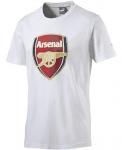 AFC Fan Tee - Crest (Q3) white