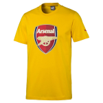 Triko Puma AFC Fan Tee - Crest (Q3) Spectra Yellow