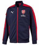 AFC Stadium Jacket with Sponsor peacoat-