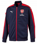 Bunda Puma AFC Stadium Jacket with Sponsor peacoat-