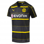 BVB Away Replica Shirt with Sponsor Logo