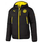 BVB Reversible Jacket black-cyber yellow