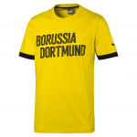 BVB Borussia Tee cyber yellow-black