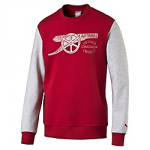 Mikina Puma AFC Fan Sweat Chili Pepper-l g heather