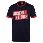 AFC Fan Slogan Tee Peacoat