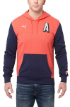 Mikina s kapucí Puma AFC Big A Hoody High Risk Red-heather