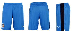 FC Viktoria Pilzen Short Royal-