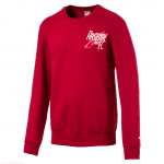 AFC Graphic Shoe Crew Sweat Rio Red