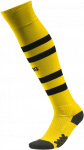 Štulpny Puma BVB Hooped Socks Cyber Yellow- Black