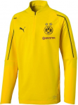 bvb dortm 1/4 zip training top kids f01