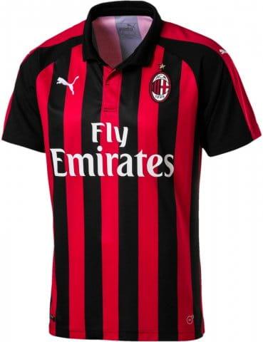 AC Milan HOME Shirt Replica SS with Spon 2018/19