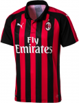 AC Milan HOME Shirt Replica SS with Spon 2018/19