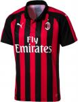 Dres Puma AC Milan HOME Shirt Replica SS with Spon 2018/19