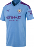 MCFC HOME Shirt Replica SS with Sponsor 2019/20