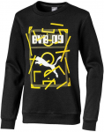 bvb dortmand dna sweatshirt kids