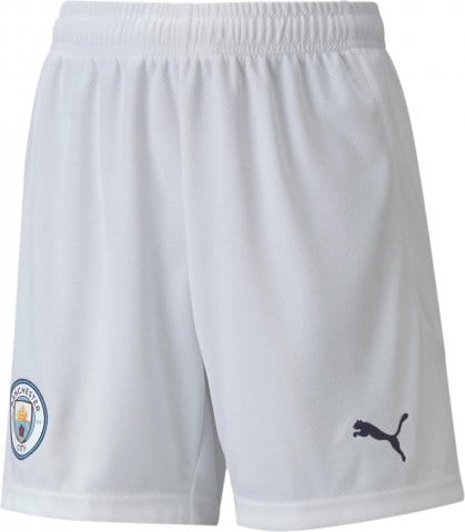 Man City Replica Youth Football Shorts Home 2020/21