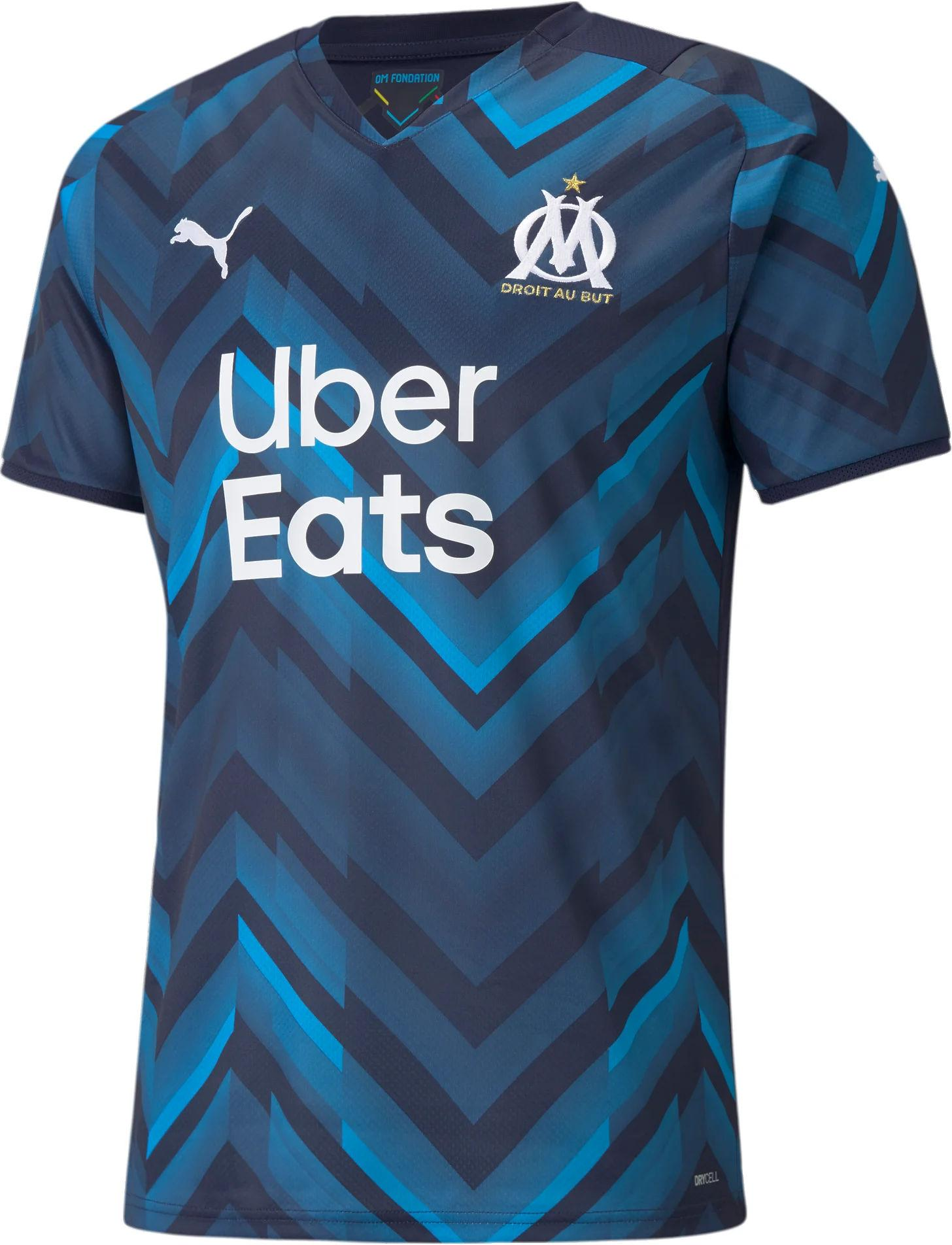 Shirt Puma OM AWAY Shirt Replica w/ Sp 2021/22