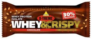 X-TREME Whey&Crispy chocolate bar