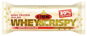 X-TREME When&Crispy white chocolate bar