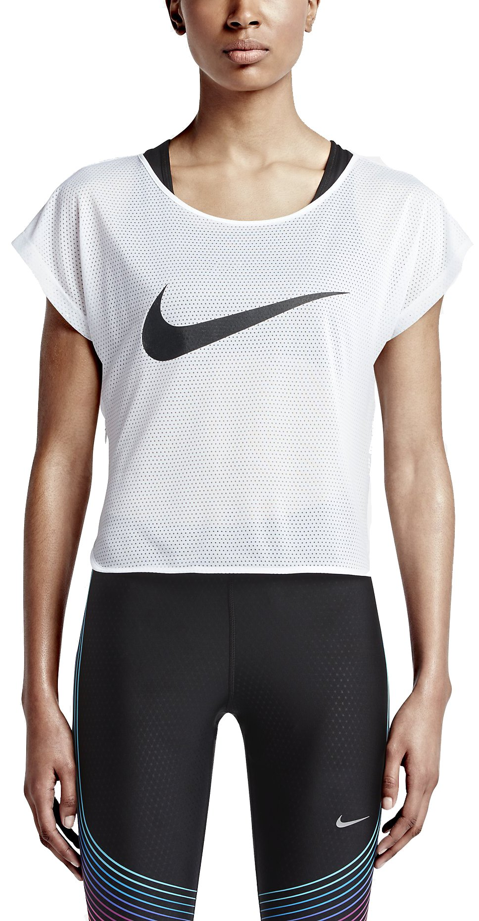 Běžecký top Nike City Cool Swoosh