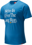 M NB ESSENTIALS ICON LONG RUN SS TEE