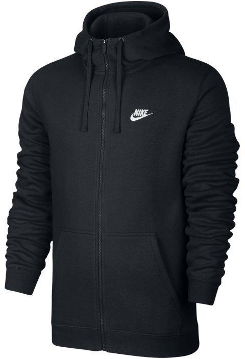 Hooded sweatshirt Nike M NSW HOODIE FZ FLC CLUB