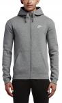 Mikina s kapucí Nike M NSW HOODIE FZ FLC CLUB