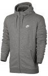 Mikina s kapucí Nike M NSW HOODIE FZ FT CLUB