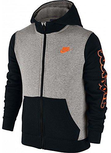 Mikina s kapucňou Nike B NSW HD FLC GFX SWSH+