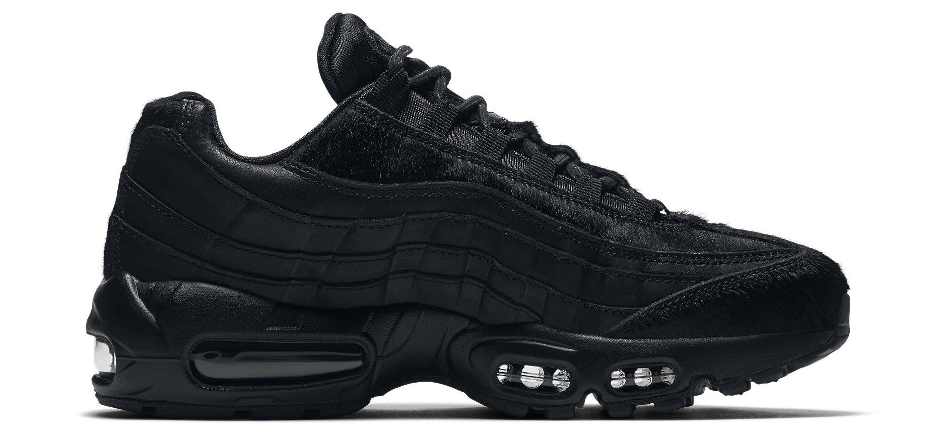 Nike Wmns Air Max 95 Premium   Black   Sneakers   807443 014