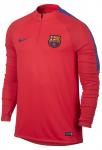 Triko s dlouhým rukávem Nike FCB M DRIL TOP SQD