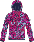 Bunda s kapucí Puma FUN Padded Jacket cerise-Cheetah