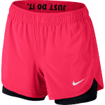 W NK FLX SHORT 2IN1