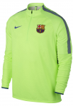 Triko s dlouhým rukávem Nike FCB M NK SHLD STRKE DRIL TOP
